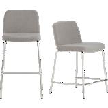 charlie grey bar stools