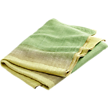 chartreuse ombre throw