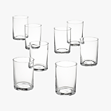 set of 8 chaser glasses
