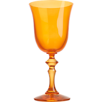 cheval orange wine glass