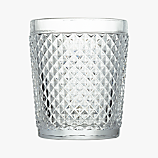 chroma clear double old-fashioned glass
