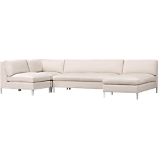 cielo II 4-piece sectional sofa