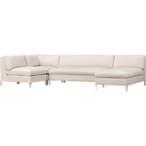 cielo ivory sectional pieces