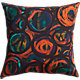 "circles 20"" pillow with feather insert"
