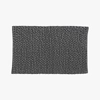 cirrus grey bath rug