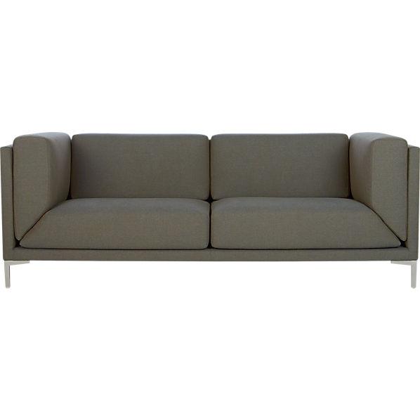 Cb2 Leather Sofa Chadwick Herman Miller Modular Sofa