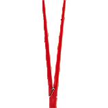 red clothespin chopsticks
