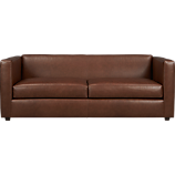 club leather sofa