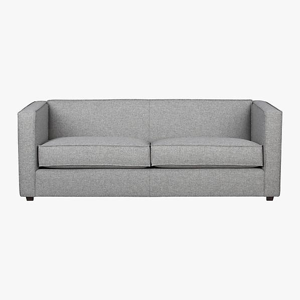 Living room sofa / European style wood sofa/oil wax full
