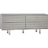 concrete low dresser