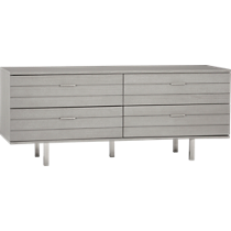 concrete low dresser