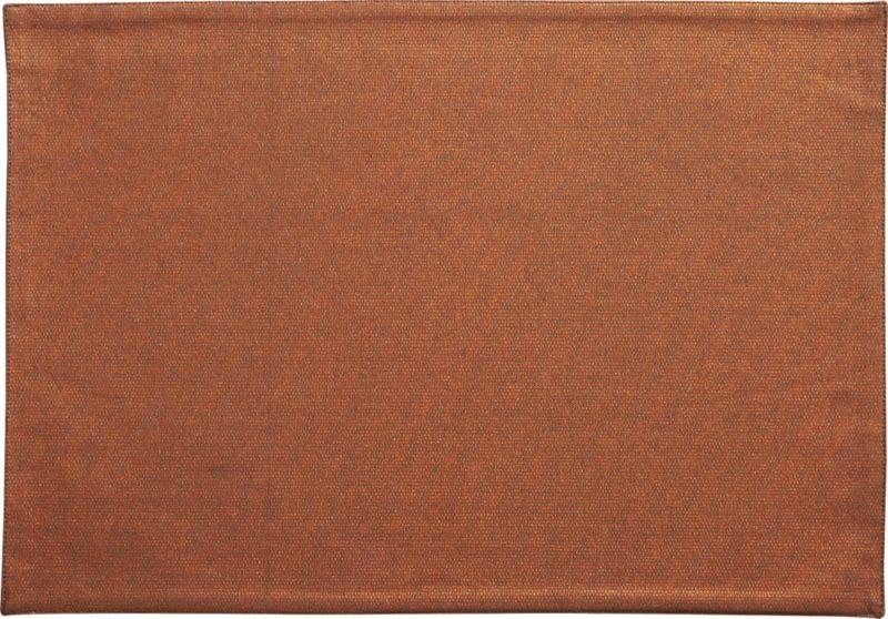 copperpot placemat