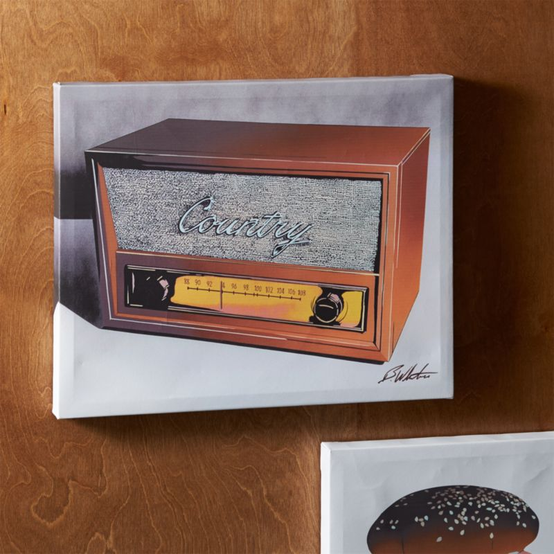 country on the radio print