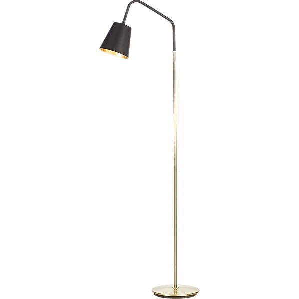 Crane floor lamp cb2 for Cb2 disk floor lamp