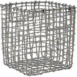 crosshatch small basket
