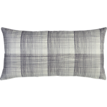crosshatch 23&quot;x11&quot; pillow