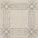 crystaline rug 6'x6'
