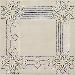 crystaline rug