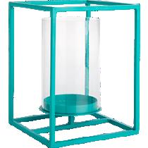 cube aqua lantern