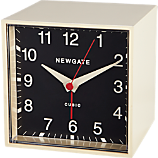 Newgate ® cubic black and white alarm clock
