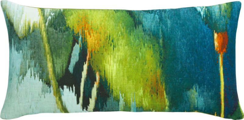 "cypress 23""x11"" pillow with feather-down insert"