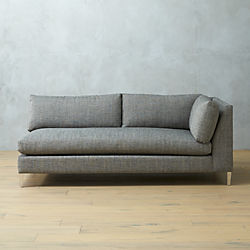 decker right arm sofa