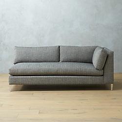 decker right arm sofa