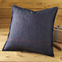 "denim 18"" pillow"