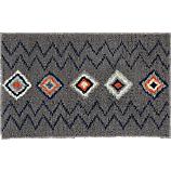 diamond shag rug 5'x8'