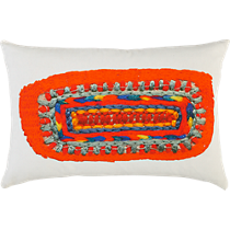 "digital center print 18""x12"" pillow"