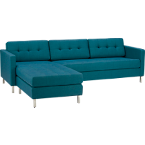 ditto peacock sectional