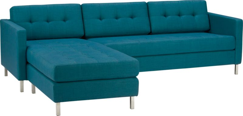 ditto peacock sectional sofa
