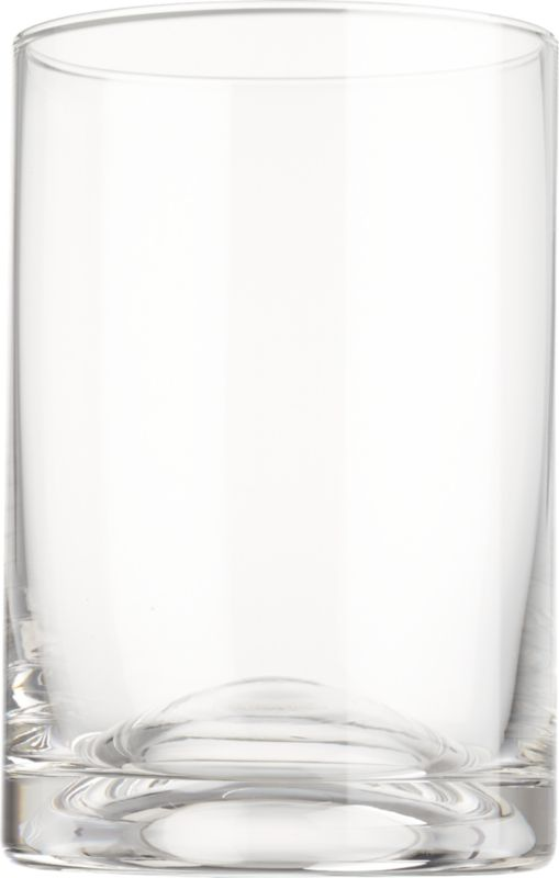 "<span class=""copyHeader"">on the bubble.</span> Simple modern cooler raises a glass to subtle sculpture. Handblown of clear soda glass, smooth dome bubbles up from the substantial base to create a composition of curves and planes.<br /><br /><NEWTAG/><ul><li>Handmade</li><li>Soda glass</li><li>Dishwasher-safe</li></ul>"