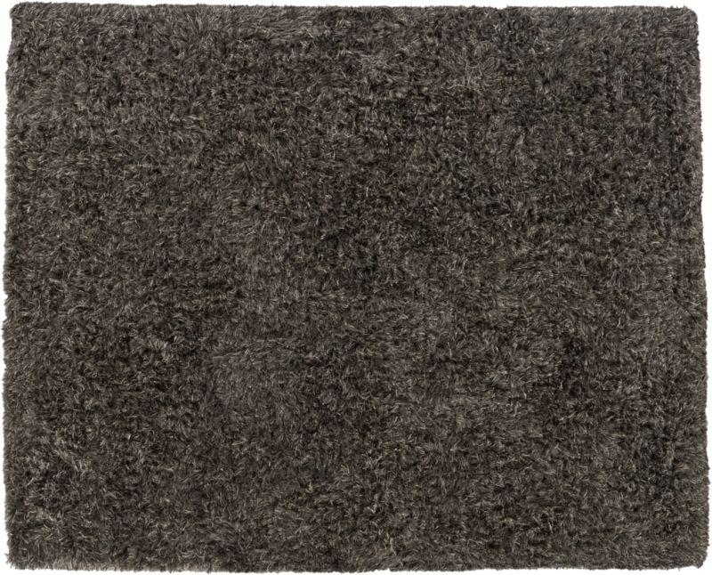 drake grey shag rug 8'x10'
