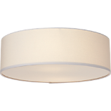 drum flush mount lamp
