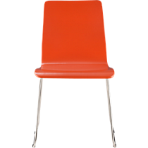 echo orange chair
