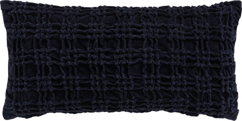 "edge midnight 23""x11"" pillow"