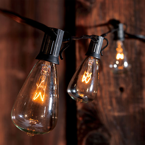 Edison String Lights Cb2