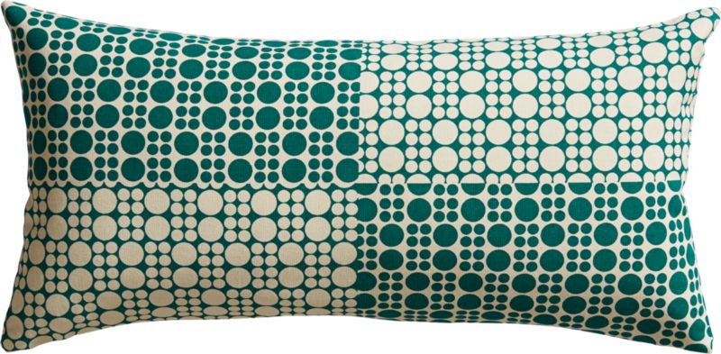 "effervescence 23""x11"" pillow"
