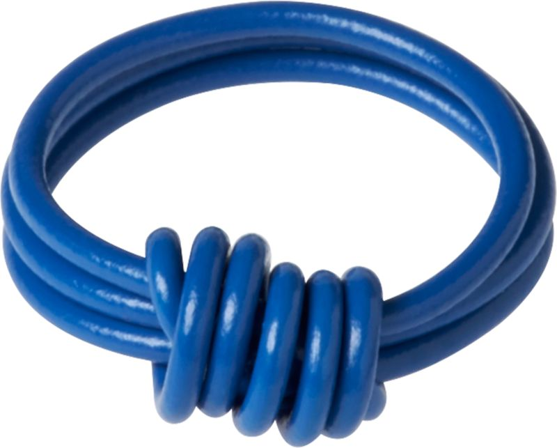 electric blue love ring