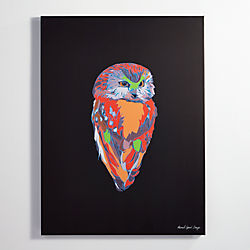 electric owl print