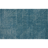 fade to blue rug 5'x8'