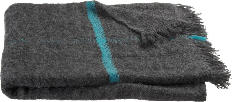 falkirk shadow aqua throw