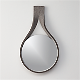felt drop mirror