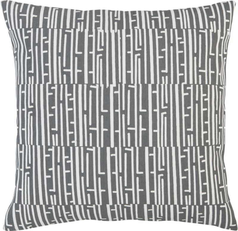 "fence 20"" pillow"