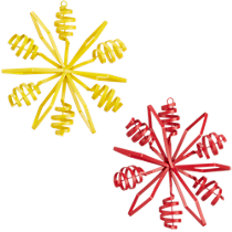 flake ornaments