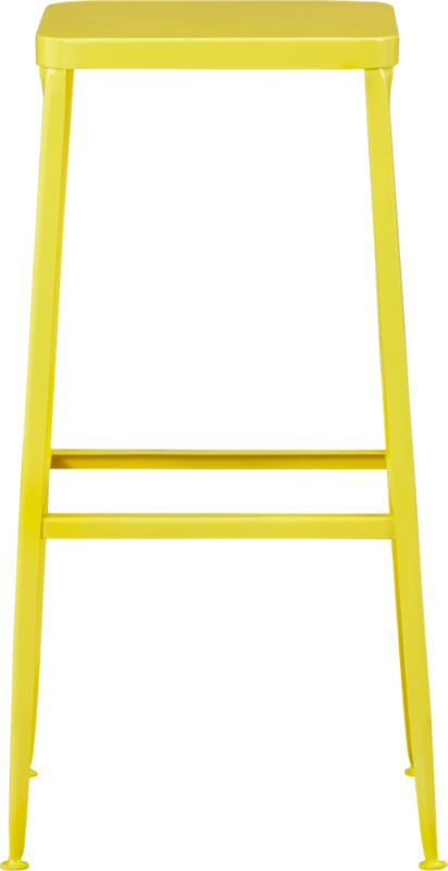 "flint yellow 30"" barstool"