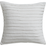 "fold white 16"" pillow with feather insert"