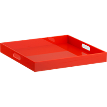 format orange tray