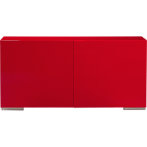 fuel red credenza